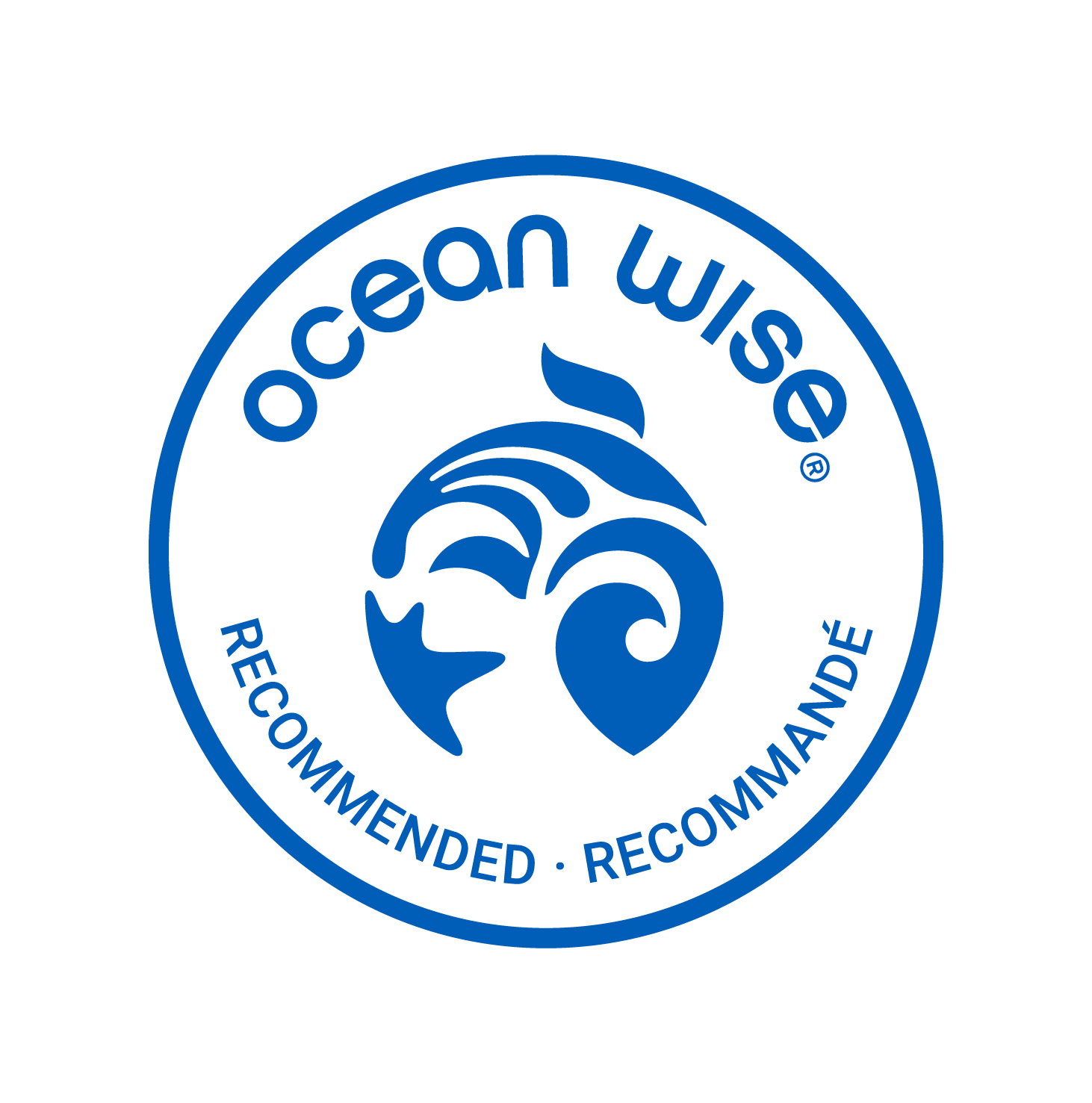 ocean wise logo for the best seafood in vancouver