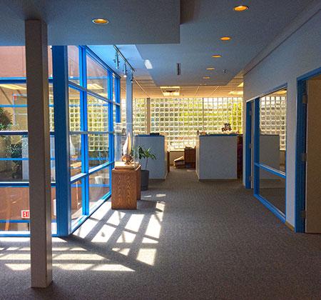 This is the oceanfoods hallway