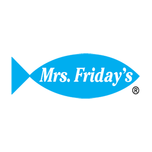 Mrs. Friday's Seafood Logo